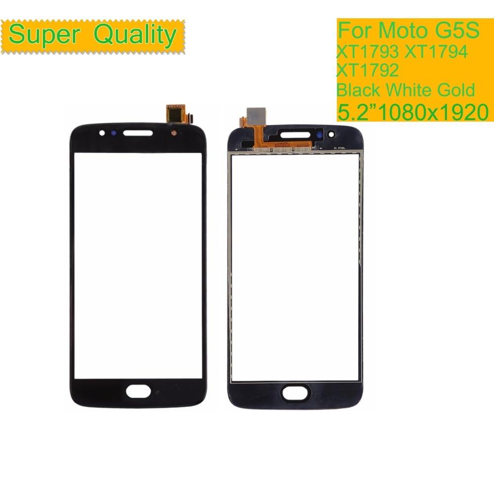 10Pcs lot ORIGINAL Touchscreen For Motorola Moto G5S XT1791 XT1792 XT1794 XT1795 Touch Screen Digitizer Front