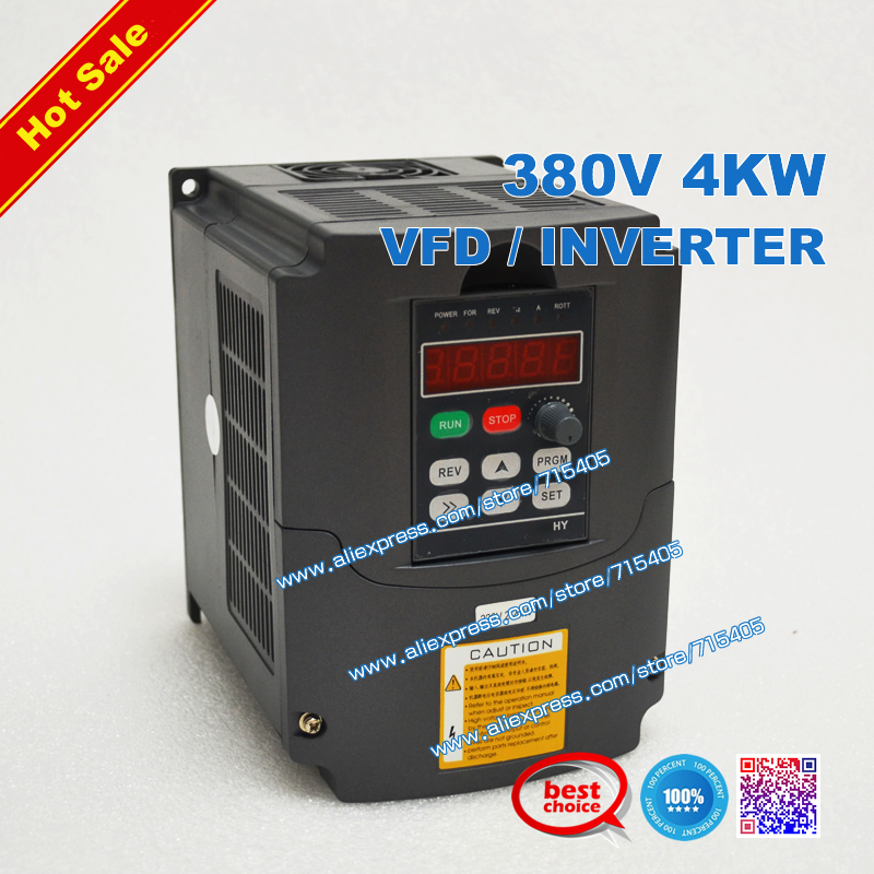 Buy ac 380v 4kw vfd inverter variable for Variable frequency drive motor