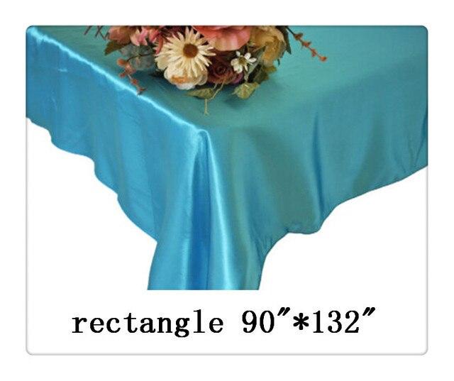 Frete grátis retângulo toalha de mesa tamanho 90
