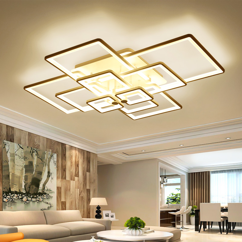 New Acrylic Modern Led Chandelier For Living room Bedroom Dining room Indoor Home Decoration Chandelier ceiling Fixtures        New Acrylic Modern Led Chandelier For Living room Bedroom Dining room Indoor Home Decoration Chandelier ceiling Fixtures