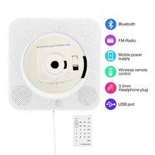 ET настенный Bluetooth CD-плеер Пульт дистанционного управления fm-радио встроенный HiFi Bluetooth портативный домашний аудио магнитофон EU/US штекер