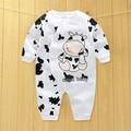 Детская одежда новая горячая 100% хлопок зимние и осенние ребенка комбинезон одежда младенца мальчики/девочки/infant/новорожденных/дети длинный рукав одежды