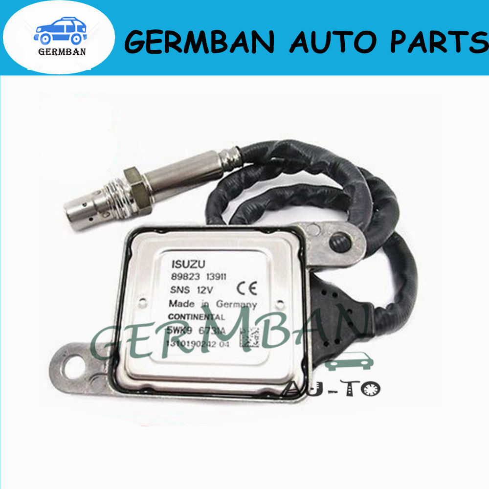 hight resolution of new manufacture nox sensor oxygen sensor for isuzu npr hd nqr nrr 4hk1 5 2l 4jj1 3 0l part no 950 0218 5wk9 6731a 89823 13911