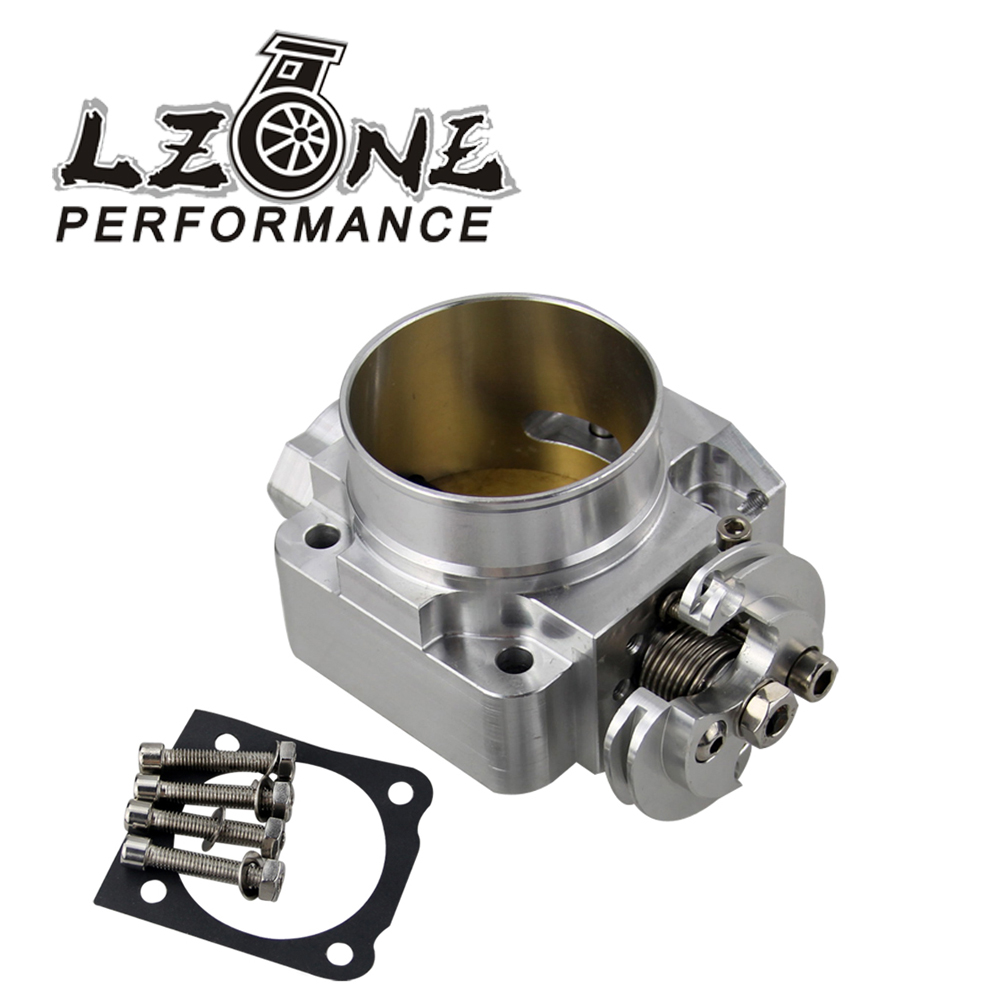 LZONE NEW THROTTLE BODY For Mitsubishi Evo 4 5 6 70mm Uprated Racing Billet Throttle Body