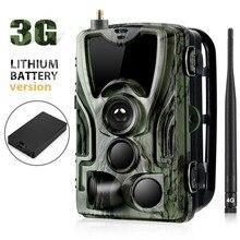 Suntekcam HC 801G 3G الصيد كاميرا 16MP كاميرا تعقب SMS/MMS/SMTP IP66 الصورة الفخاخ البرية كاميرات مع 5000 mah ليثيوم Batterry