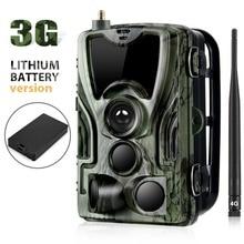 Suntekcam HC-801G 3g охотничья камера 16MP Trail камера SMS/MMS/SMTP IP66 фото-Ловушки камеры для дикой природы с 5000 Mah литиевая батарея