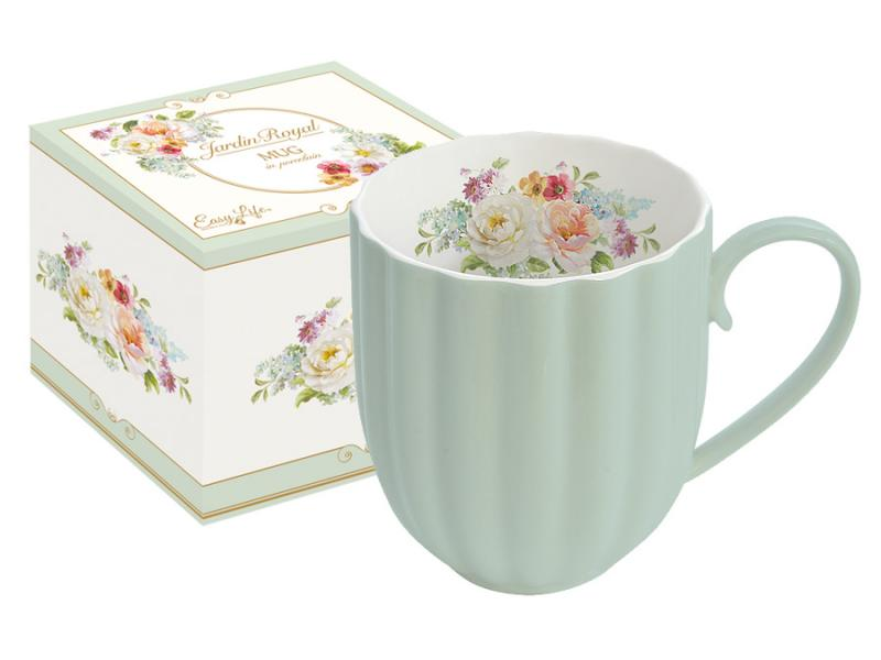 Mug Easy Life, Royal garden, 300 ml, Green витамины garden of life