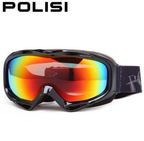 POLISI Professional Polarized Skiing Eyewear Ski Snowboard Snow Goggles Double Layer Motorcycle Snowmobile Skate Glasses