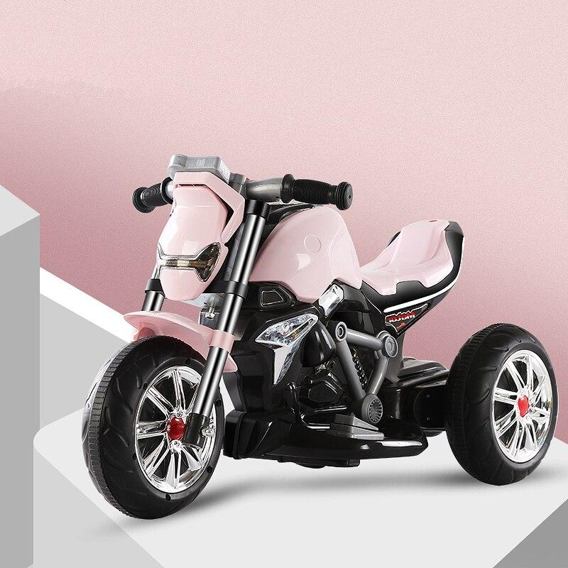 Voiture électrique pour enfants monter sur les enfants conduire tricycle véhicule enfant en bas âge enfants 1-3-5 ans jouets de plein air bébé filles garçons cadeau - 4