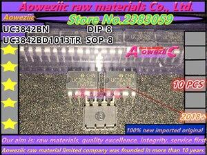 Image 1 - Aoweziic 2018 + 100 новый импортный оригинальный UC3842BN UC3842B DIP 8 UC3842BD1013TR 3842B SOP 8 импульсный чип питания UC3842
