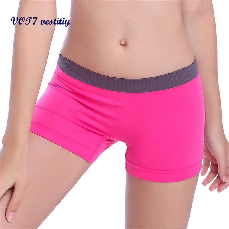 VOT7 vestitiy 2018 fashion lady shorts Dames Workout Tailleband Skinny Shorts broek Sep 8
