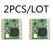 2 قطعة RFM95 RFM95W 868 915 RFM95 868MHz RFM95 915MHz لورا SX1276 وحدة إرسال واستقبال لاسلكية الأصلي