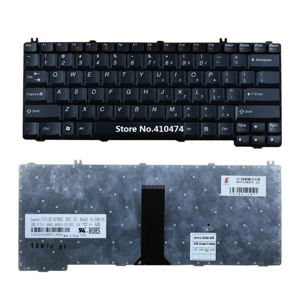 US Keyboard for IBM Lenovo Ideapad 3000 C460 C461 C462 C466 N440 Y510 Y520 Y710 Y730 Y430 Y330 U330 V100 N100 N200 N220