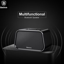 BASEUS Brand 10M Bluetooth Speaker Mini Portable Outdoor Wireless Speaker 3D stereo Music Surround USB TF Card Player(China)