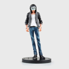 Anime Figurine One piece Action Figure Trafalgar D Water Law Jeans PVC Doll Collectible Modely Toy 18cm