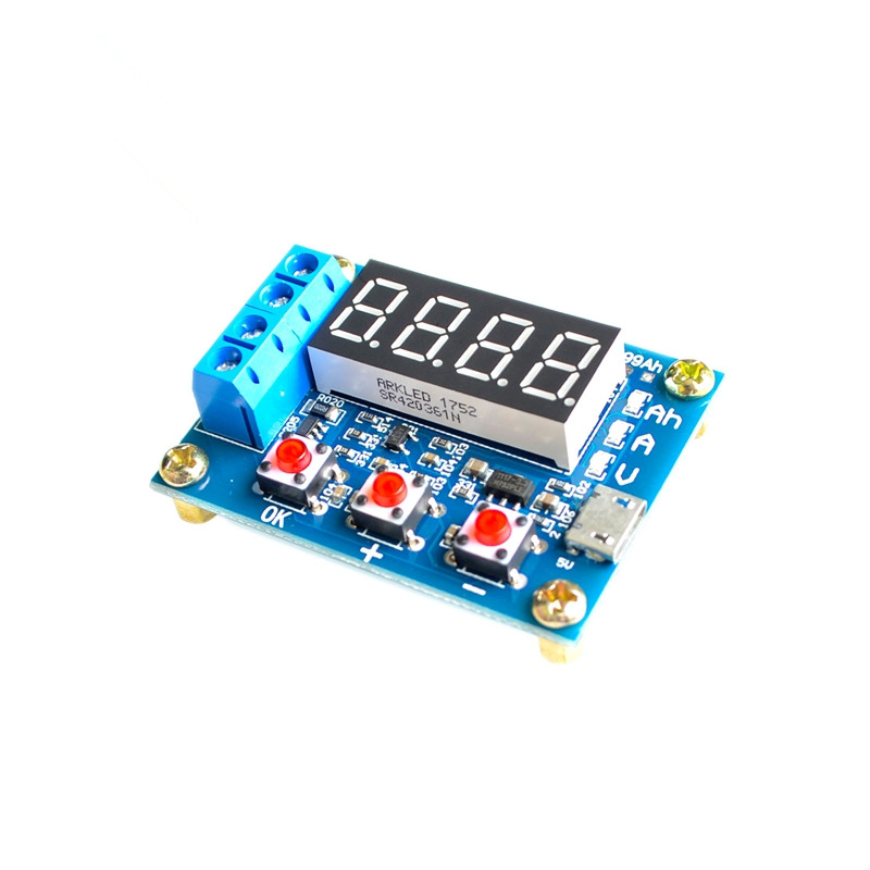 1pcs ZB2L3 battery capacity tester external load discharge type 1.2-12V battery 18650 equal capacity test lo not equal пиджак