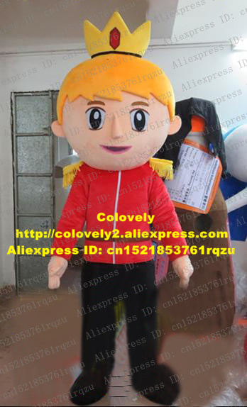 Featurely Prince Infante Mascot Costume Cartoon Character Mascotte