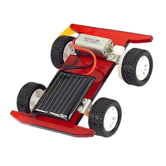 2 pcs Solar Power Mini Racing Car  4