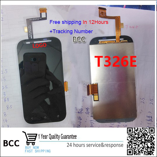 Original quality Touch screen digitizer+LCD display for HTC Desire SV T326e fast shipping tracking number