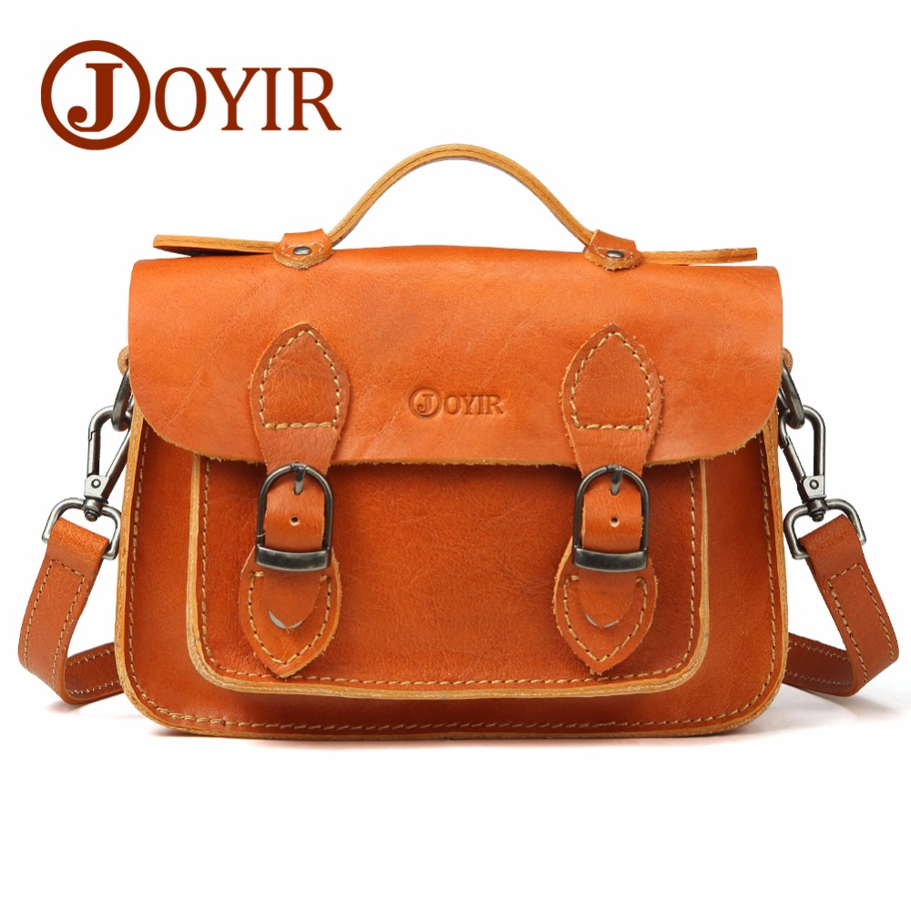 JOYIR 2018 Genuine Leather Ladies Handbags Vintage Women's Crossbody Bags Female Shoulder Bag Bolsa Feminina Messenger Bags 8668 joyir vintage women messenger bag designer genuine leather handbags crossbody bags for women shoulder bag bolsa feminina 8602