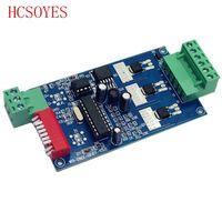 (1 шт./лот) DC5V-24V 3CH 3 канала 1 группа 2key 1А каждый канал (макс. 15а) dmx512 декодер RGB контроллер