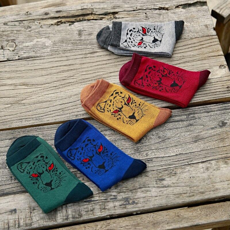 New Man in tube socks wild cotton socks autumn winter socks man jaguar EUR39-44