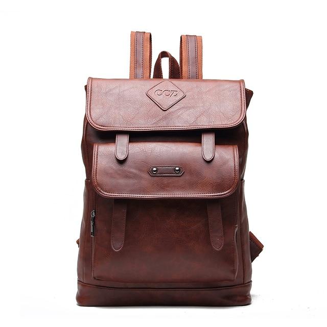 Крест быка походный рюкзак унисекс сумка из искусственной кожи черная школьная сумка BK8001