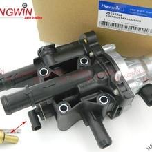 Натуральная № 25192228 двигателя Хладагент термостат Корпус подходит для Chevrolet Sonic Cruze трекер Тракс 2011- 96984103& 55578419