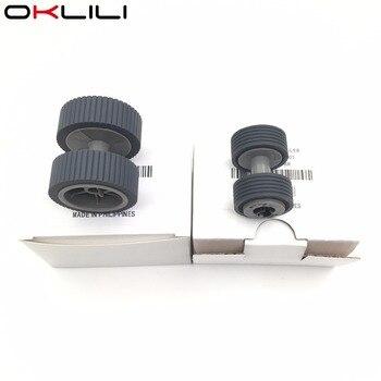 10SETX PA03540-0001 PA03540-0002 Brake and Pick Roller for Fujitsu 6130 Fi-6130 Fi-6130Z Fi-6230 Fi-6140 Fi-6240 Fi-6125 Fi-6225 фото