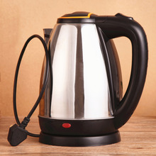 2016 New arrivel 2L Good Quality Stainless Steel Electric Automatic Cut Off Jug Kettle