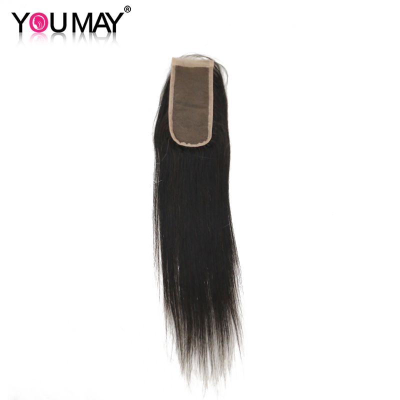 6x2 Lace Closure Bleached Knots Peruvian Straight Hair Lace Closure With Baby Hair You May Human