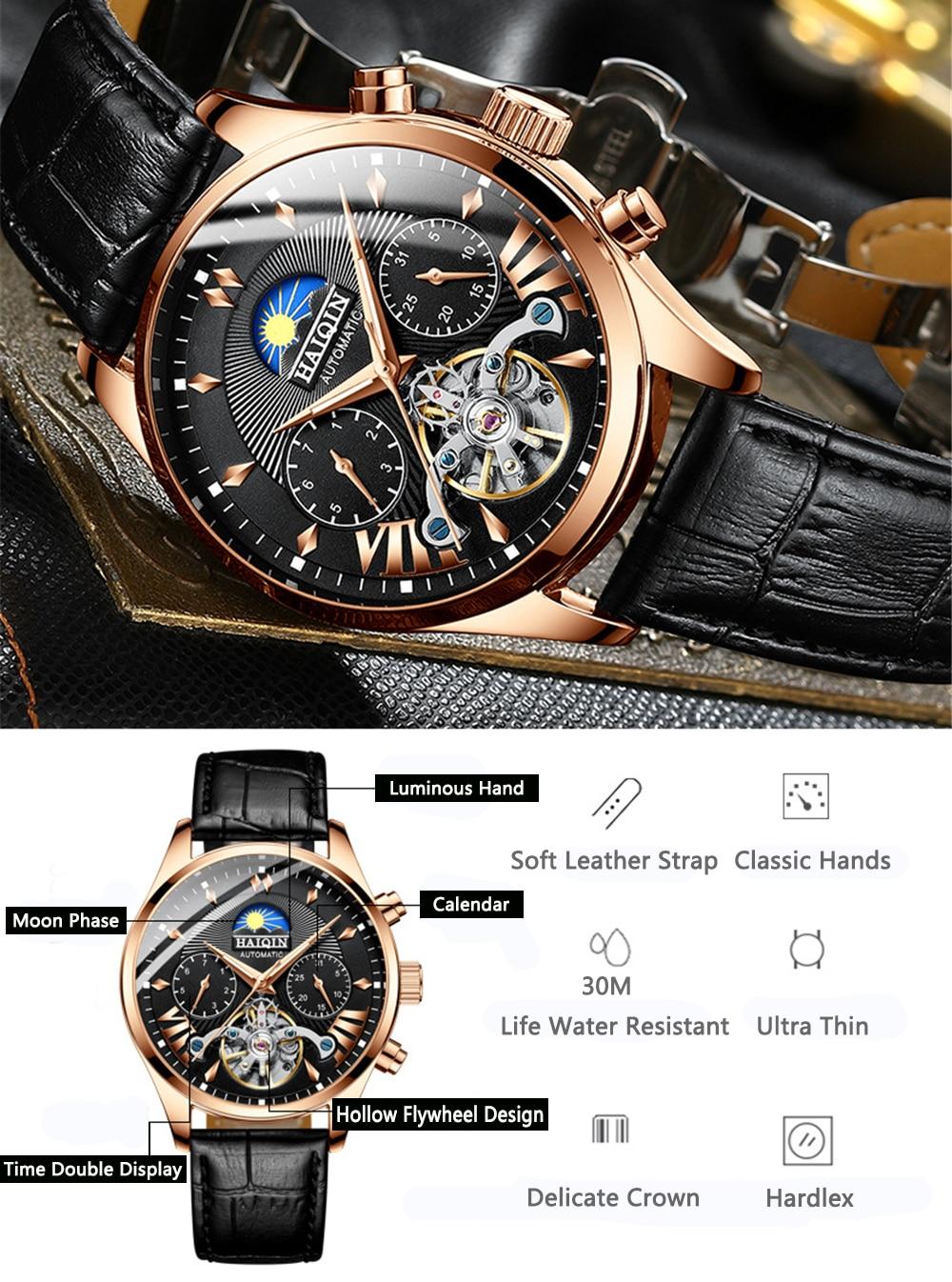 HTB1ocCHXJfvK1RjSszhq6AcGFXaz HAIQIN luxury Automatic Mechanical Men Watch classic Business Watch men Tourbillon Waterproof Male Wristwatch Relogio Masculino