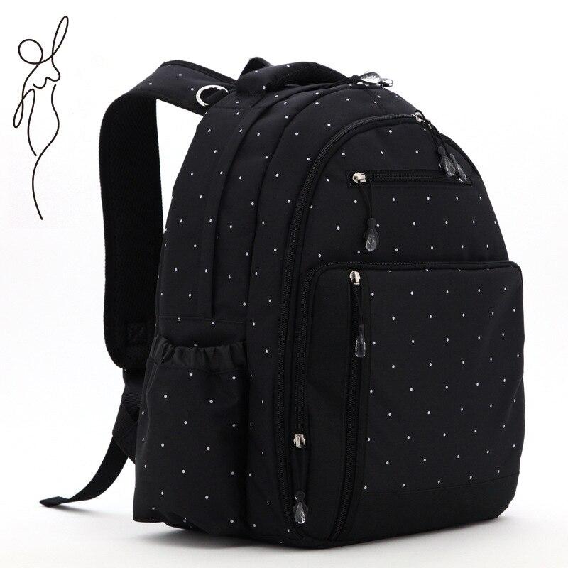 Multifonctionnel matériel sac à dos bébé sacs pour maman couche sac à dos pour voyage bebe momie sac nappy sacs à dos