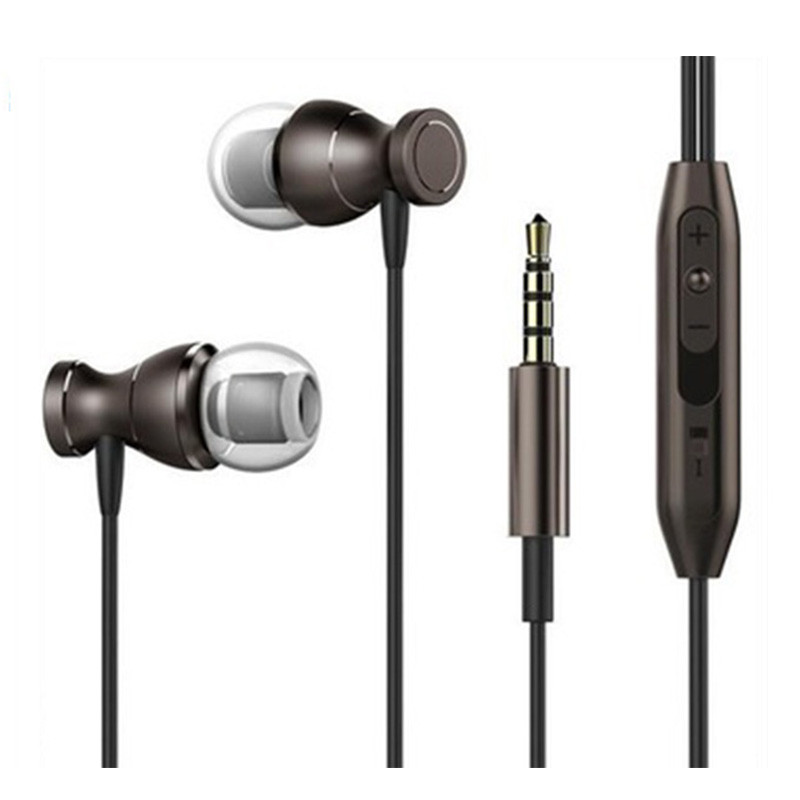 In ear earbuds 3.5mm Stereo Headset Build in Microphone Sport Earphone MP3 PC Gaming Auriculares for IOS Android Phone