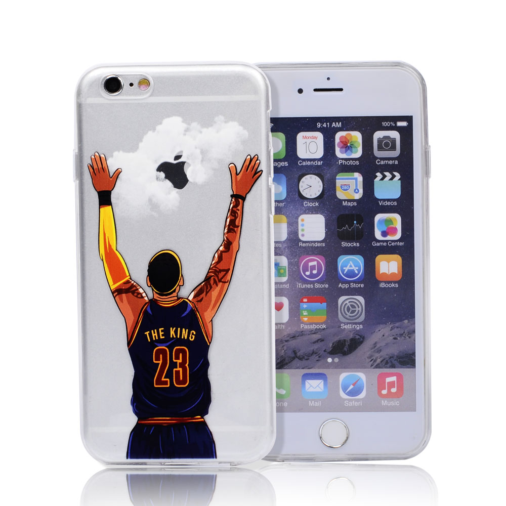 Nba case for iphone 7 7 plus michael jordan 23 lebron for Coque iphone 7 portefeuille