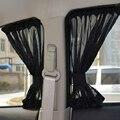 Nuevo 2 unids Negro Auto Visera Parasol de Coche Cortina de ventana de Coche con Ventosa Auto Car Styling Cubiertas de Automóviles cortina
