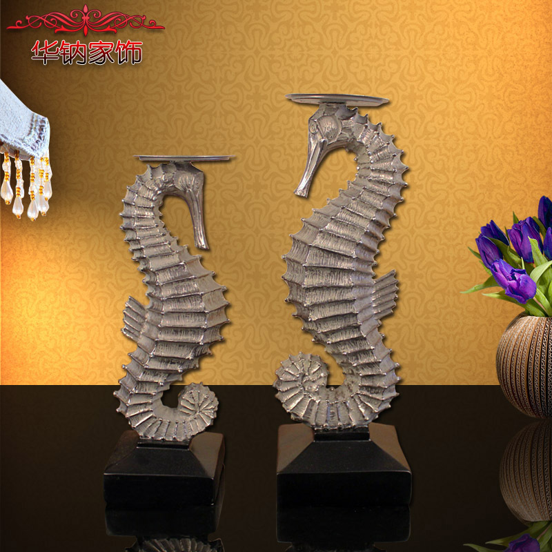 2016 Direct Selling Time-limited In The Living Room Decoration Style Home Furnishing Candlestick Resin Crafts Wedding Gift