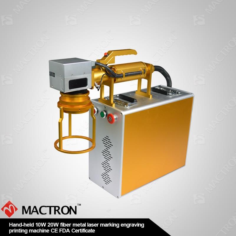 Desktop fiber lasermarkering 20W DIY metalen lasergravure, mini - Houtbewerkingsmachines - Foto 2