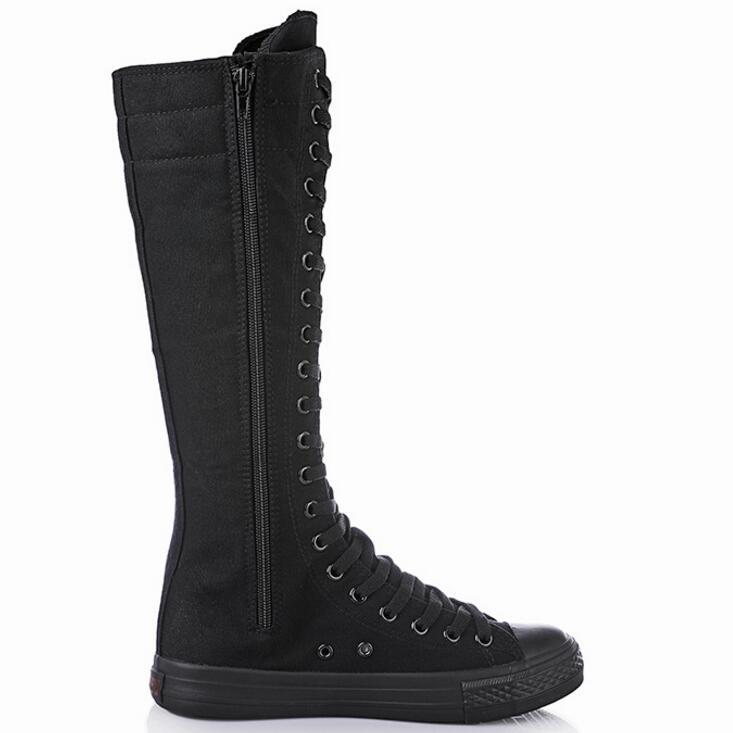 long sneaker boots