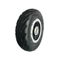 6X2 6inch inch Electric scooter Fast back Air tyre wheels 160mm diameter bearing set