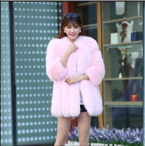 Moelleux Manteau Z55 De Artificielle D'hiver Femmes Chaud Taille Femme Plus Veste La Fourrure 2019 Outwear Faux 8n0rZ8