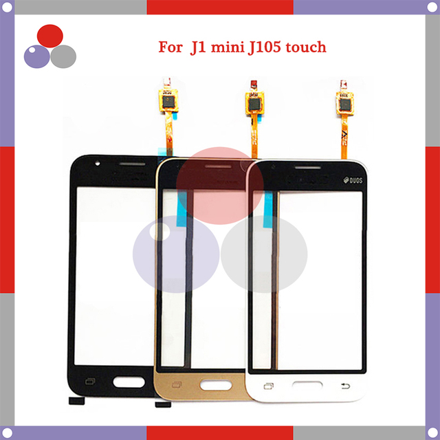 באיכות גבוהה עבור Samsung Galaxy גרנד J1 מיני J105 J106 SM-J105Y J105H מגע מסך פנל חיישן Digitizer חיצוני זכוכית עדשה