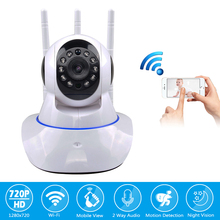 hot deal buy wireless cctv 1.0mp camera home surveillance security 720p ip camera wifi baby monitor pan tilt night vision motion detection