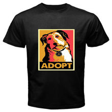Adopt a Dog men's t-shirt