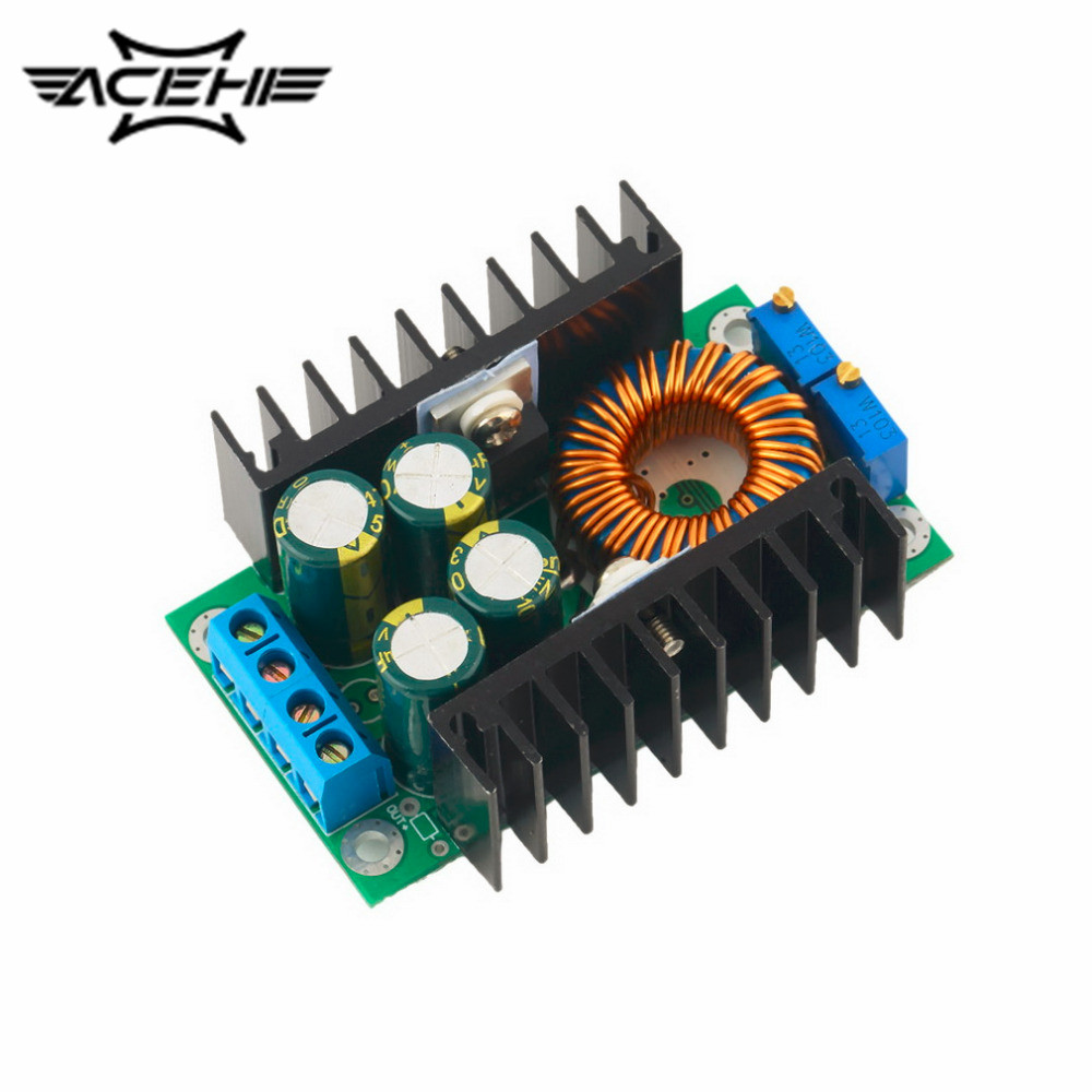 1pcs Professional Step-down Power DC-DC CC CV Buck Converter Step-down Power Supply Module 8-40V to 1.25-36V Power Module 1pcs professional step down power dc dc cc cv buck converter supply module 8 40v to 1 25 36v 8a adjustable