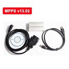 Nueva SMPS MPPS V13 Metal Box EDC16 Chip Tuning Remap Chiptuning PUEDE Interruptor Intermitente ECU interfaz USB Fácil de operar