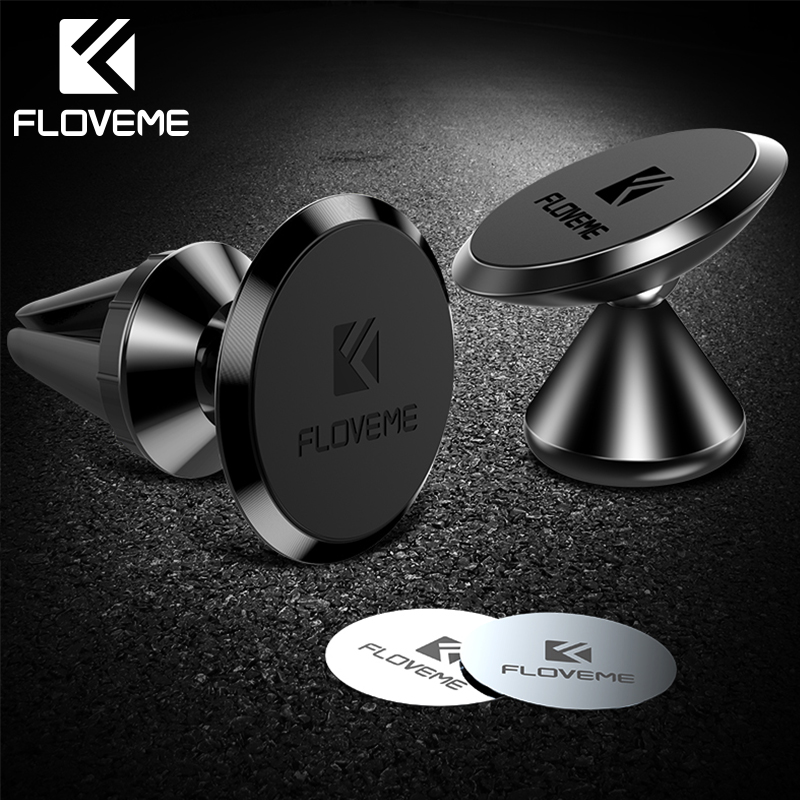 FLOVEME Magnetic Car Phone Holder Stand 360 Auto Car Air Mount For IPhone XS Max XR Xiaomi Huawei Mate 20 Holder Stand For Phone