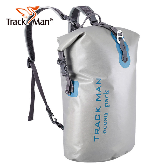 Double Shoulders High Quality Outdoor Waterproof Bags Ultralight Camping Hiking Dry Organizers Drifting Kayaking Swimming Bags