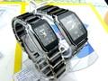 Longbo бренд высокое качество любителей керамические часы пара кварцевые площадь женщины стали качество мода свободного покроя спортивных часов
