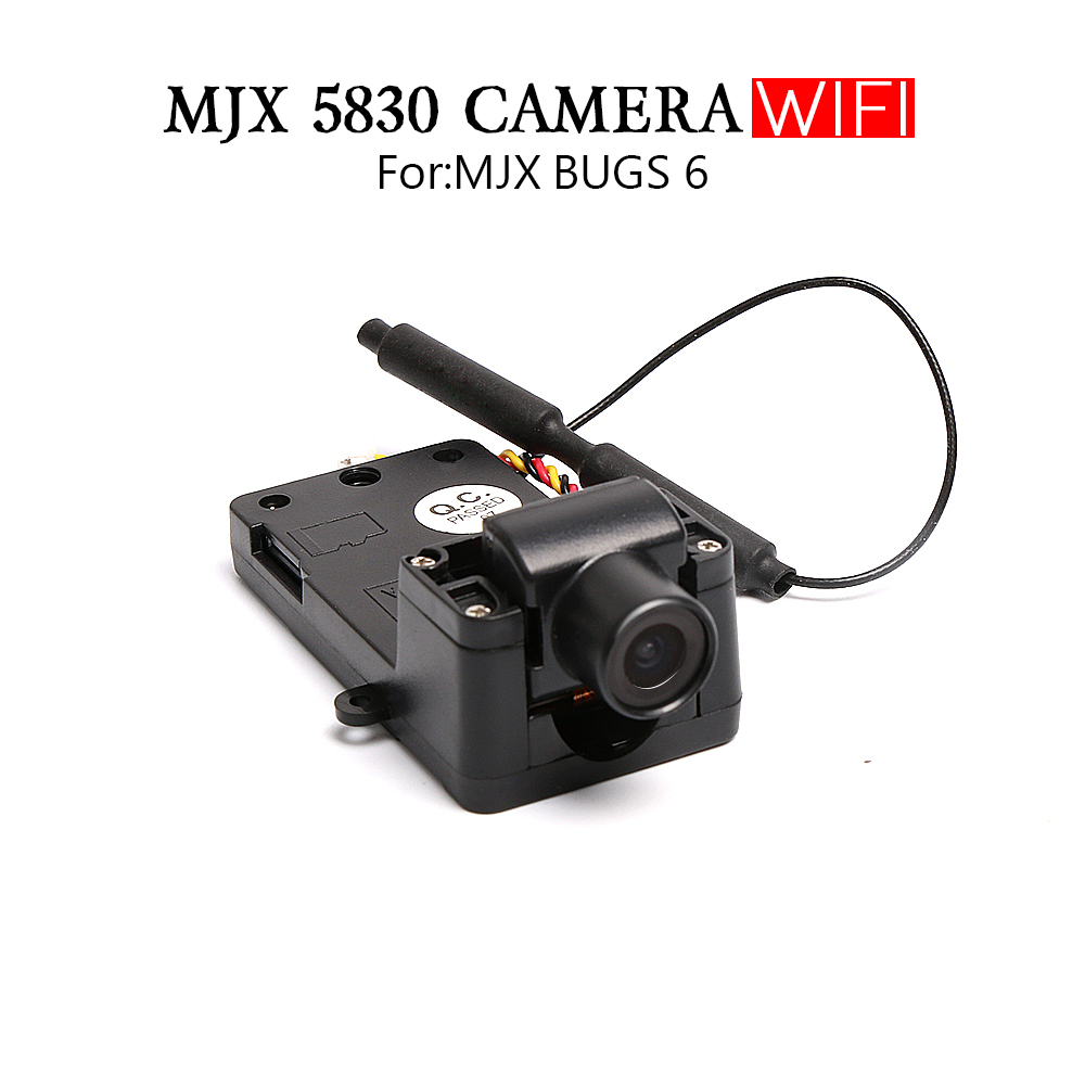 Hot. MJX C5830 5.8G FPV Camera For MJX Bugs 6 B6 RC Drone FPV Camera RC Quadcopter Spare Parts Free Shipping original accessories mjx b3 bugs 3 rc quadcopter spare parts b3 024 2 4g controller transmitter